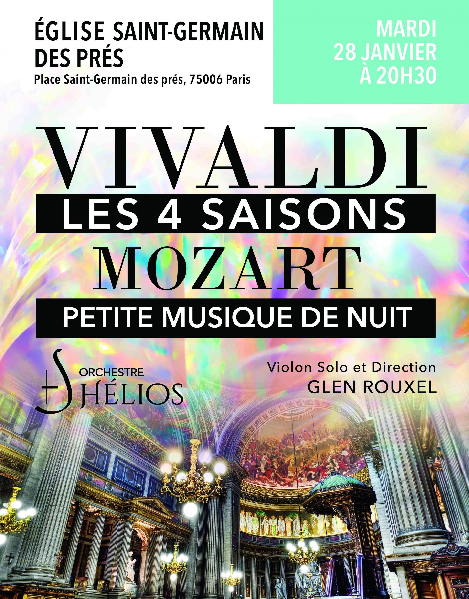 Vivaldi´s 4 Seasons Complete / Mozart´s Little Night Music