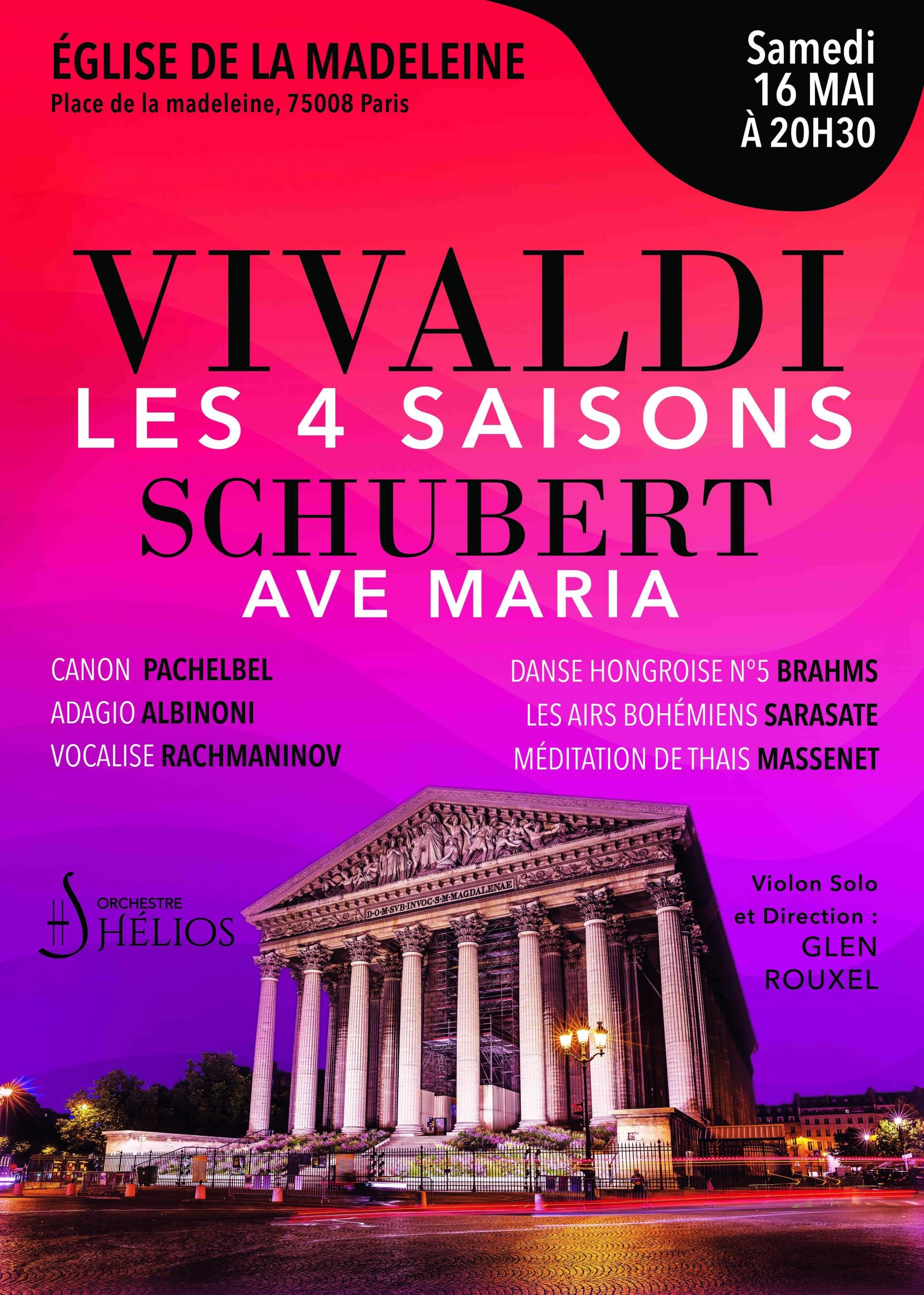 The 4 Seasons by Vivaldi and Carmen de Bizet