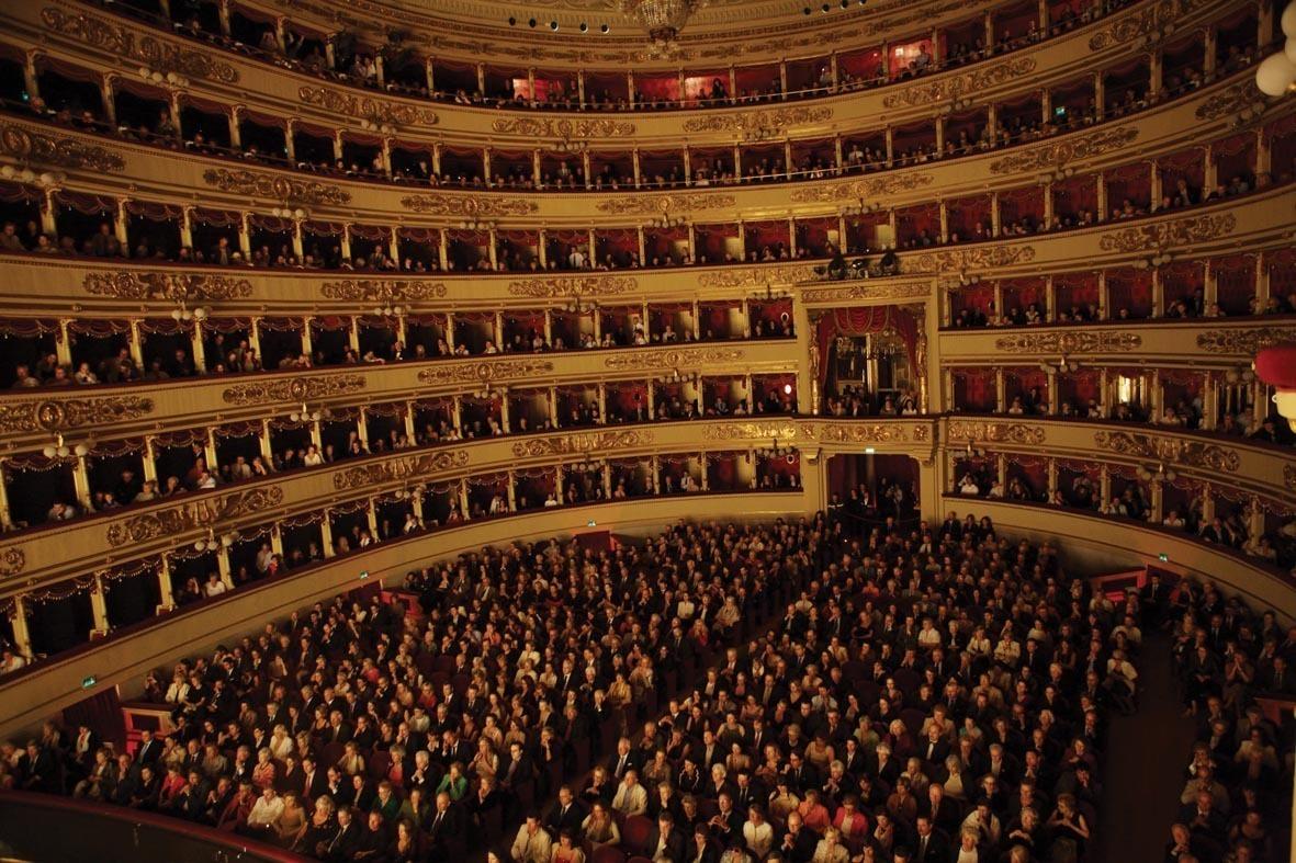 изображена иконе ла скала фотографии зрителей веке