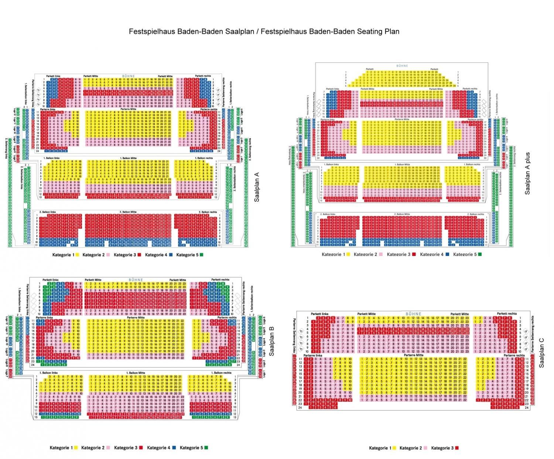Baden Baden Festspielhaus Sitzplan